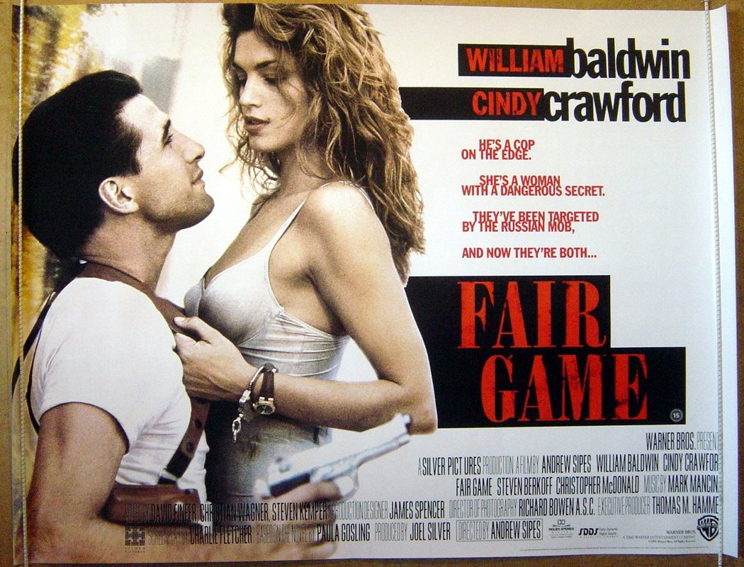 Cindy crawford sex video scene with william baldwin in fair game
