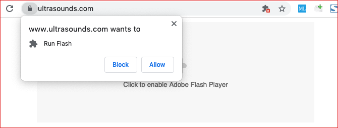 How to activate flash in chrome