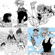 Goku fucks pan