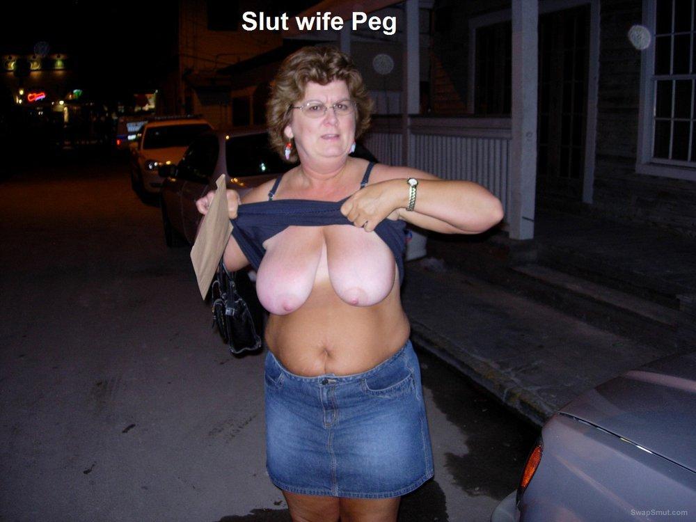 Cheating big tit slut wife