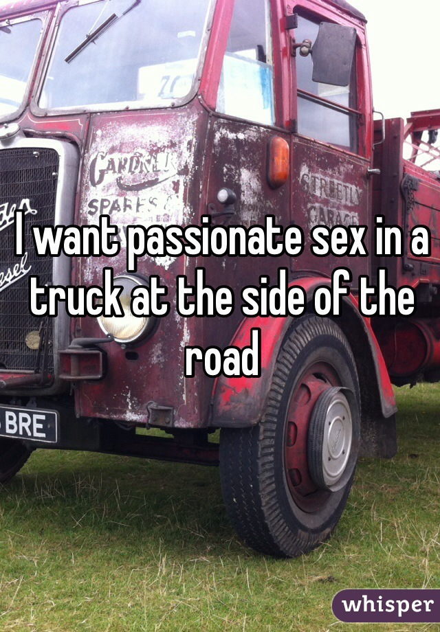 Sex on the side of the road