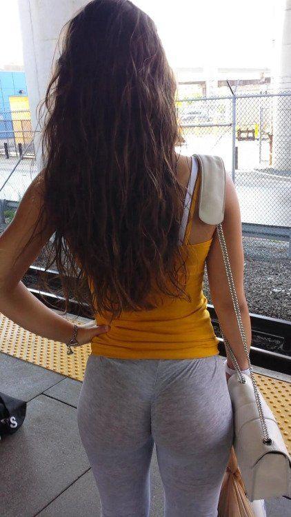 Fat asses in public