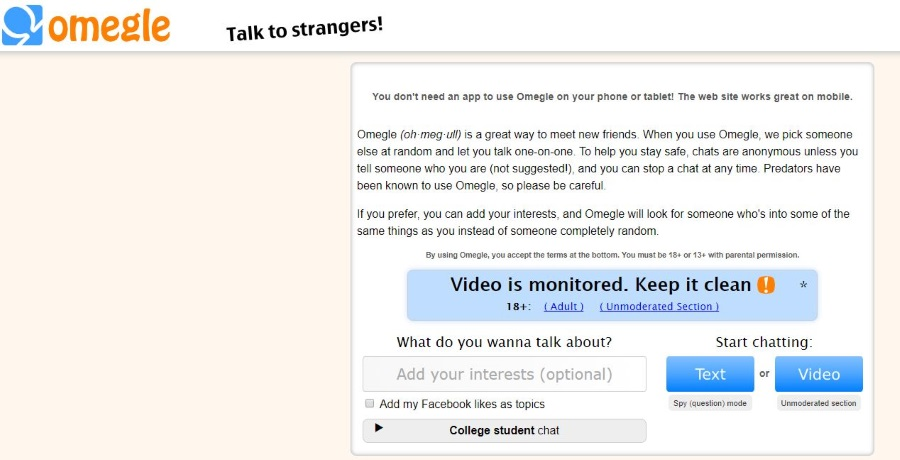 How to chat with girls on omegle