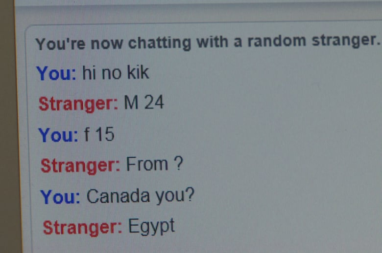 Omegle chat only female
