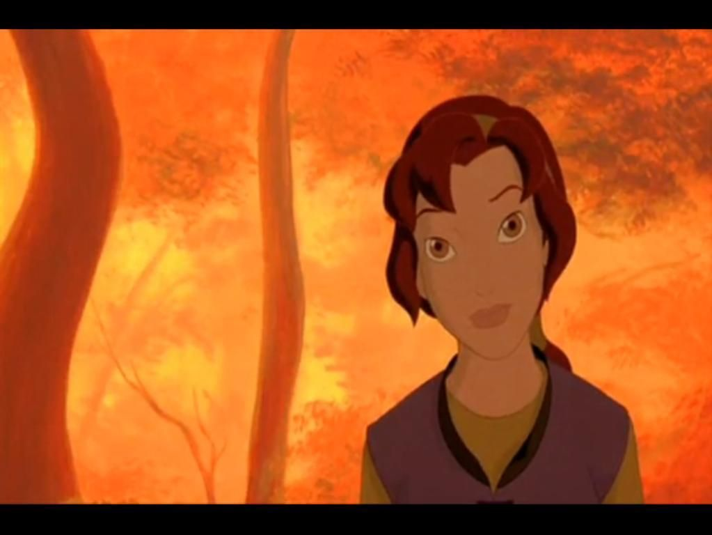 Quest for camelot kayley is based on which character