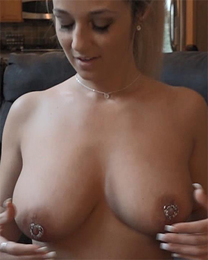 Big sexy naked breasts abuse