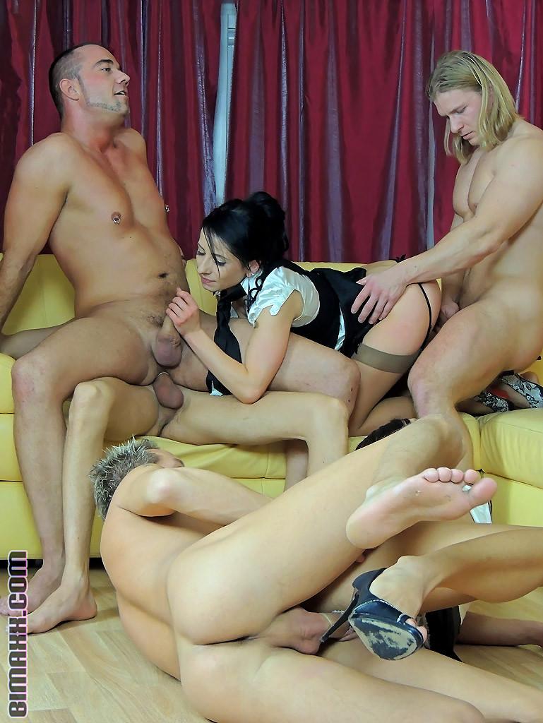 Bi Orgy Homemade