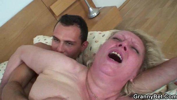Granny bet tube video at moms porn