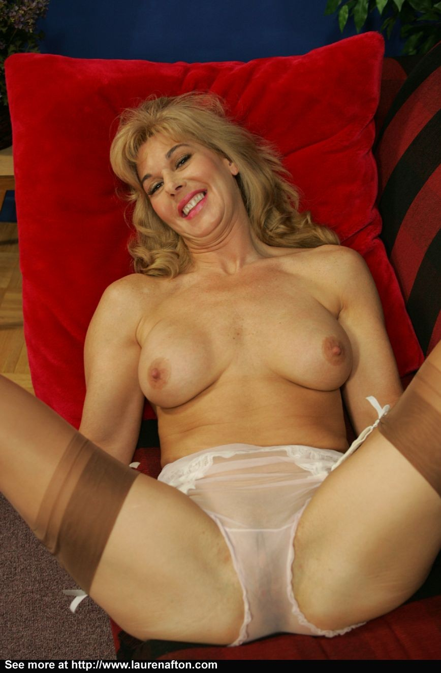 Mature lauren afton upskirt girdle photo