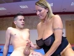 Russian blonde milf porn