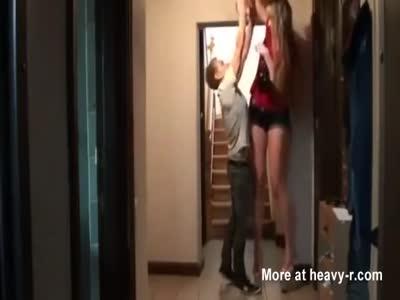 Sassy blond nun takes sexual punishment in the monastery XXX