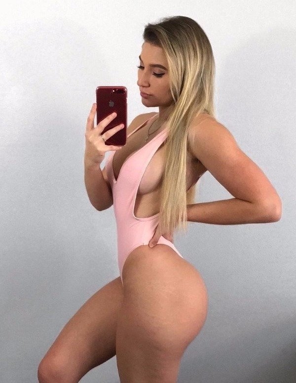 Jerking off her brother