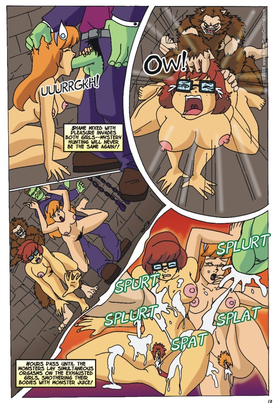 Scooby doo have an idea to fuck porn comics