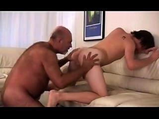 White guy sucks big black cock