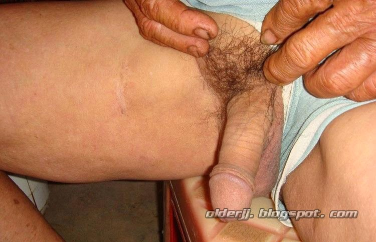 Love old man daddy big cock shooting