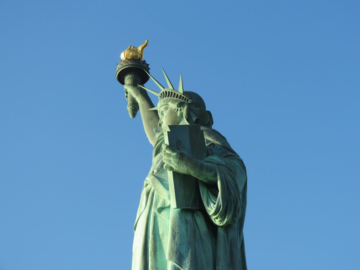 A gallery of strange statue of liberty pictures