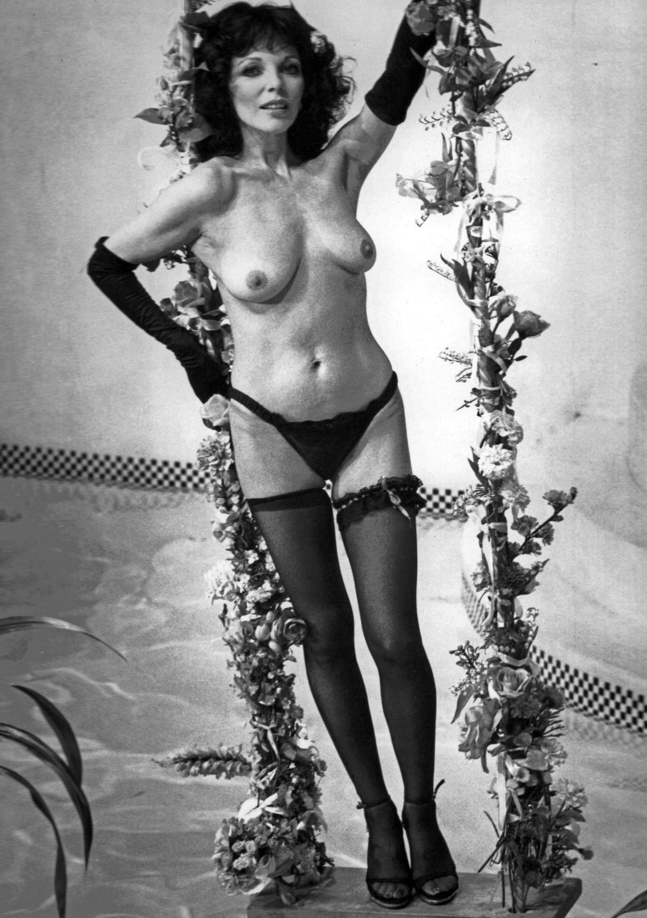 Joan Sims Nude nude pictures of joan collins - stocking tease - www