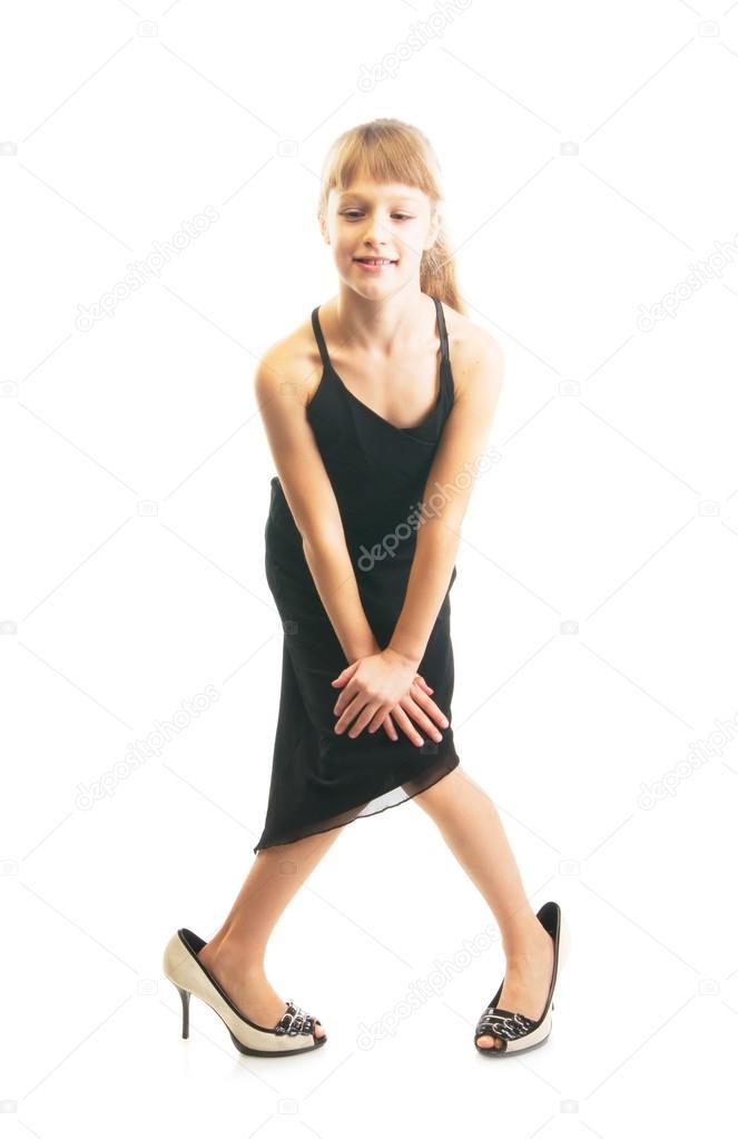 Big girls in high heels