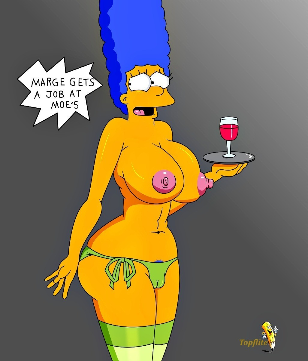 Stockings marge in simpsons nackt Simpson Porn