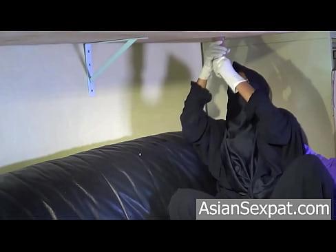 Muslim niqab blowjob new