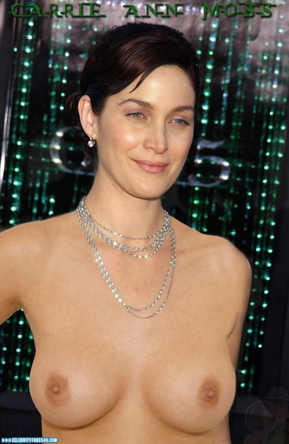 Carrie anne moss pussy