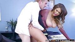 Cassidy banks bad big tit secretary fucked hardcore