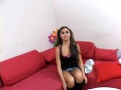 Casting couch teen endures a pussy massacre free videos