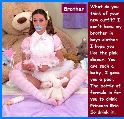 Forced diaper husband humiliation captions adanih
