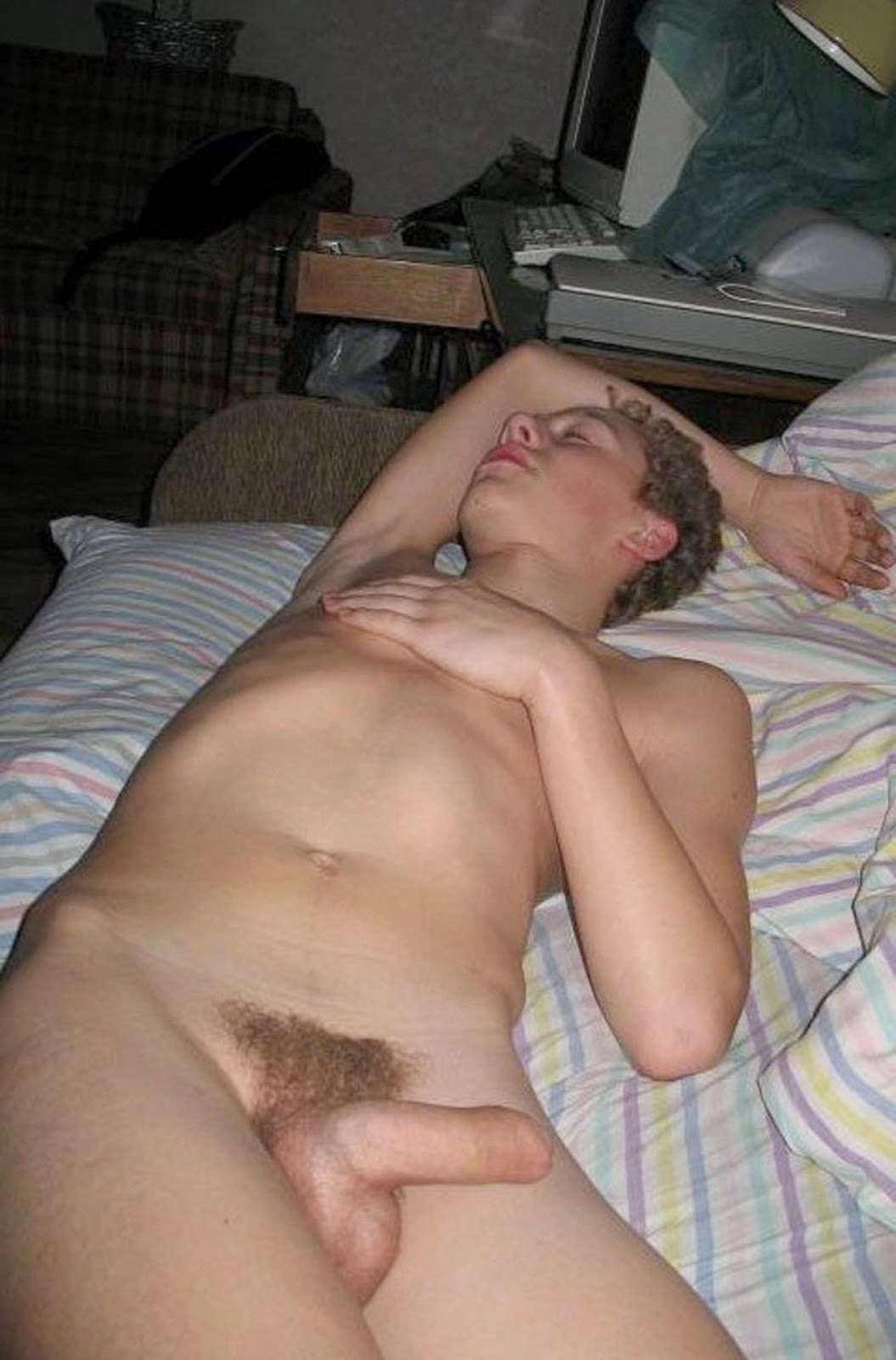 Passed out twink