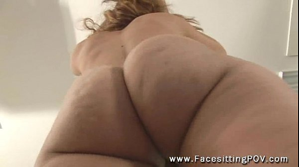 Facesitting mistress extreme ass and pussy pov closeup