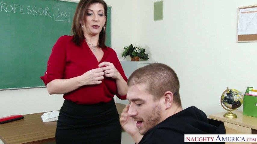Busty teacher sara jay