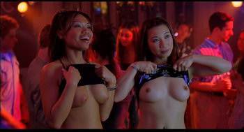Harold and kumar topless party