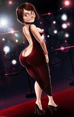 Helen parr sexy ass tits porncomic