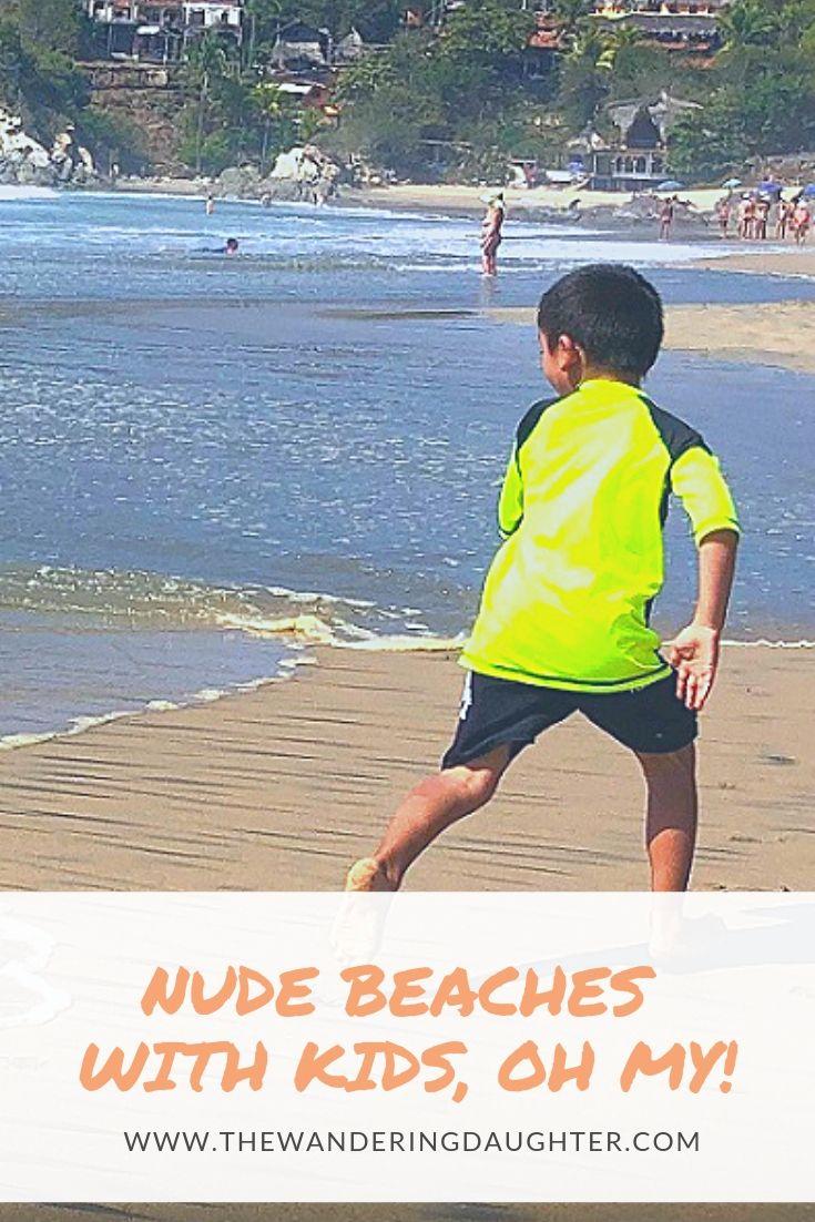 Nudist family vacation pics