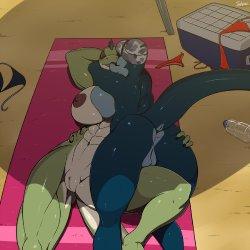 Reptile girls rims e hentai galleries