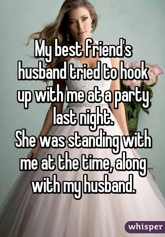 Wife flashes husbands friends
